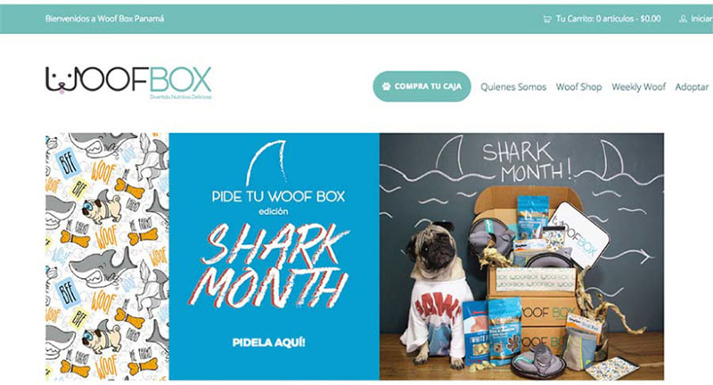 WebPageWoofBox